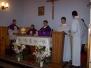 Nabożeństwo za zmarłych przy krzyżu i cmentarzu cholerycznym